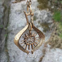 Studio Else & Paul Bronze Necklace Norway Norwegian