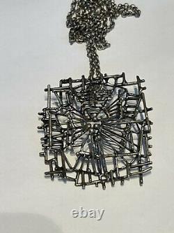 Studio Else & Paul sterling silver Pendant Brooch Norway Norwegian