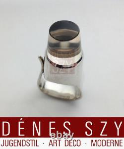 TORUN design Georg Jensen sterling silver Ring # 151 with quartz crystal stone