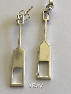 Tone Vigeland Norway Designs Earrings Sterling Silver Norwegian