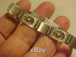 Understated Vintage GEORG JENSEN 56B Denmark Sterling Silver Link Bracelet