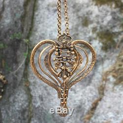 Unn Tangerud for David Andersen Bronze Necklace Norway Norwegian