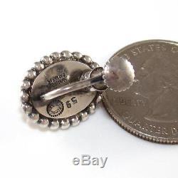 VTG Estate Georg Jensen #59 Sterling Silver Vintage Modernist Earrings LQ50-G
