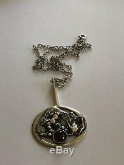 Valdres solvsmie sterling silver Pendant Norway Norwegian