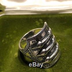 Viking Saga series for David Andersen Sterling Silver ring Norway