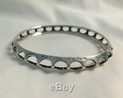 Vintage Alton Sweden Sterling Silver Bracelet Bangle 935 Signed Buy It Now