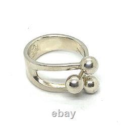Vintage Anna Greta Eker Norway Sterling Silver Ring Sz. 7. Lot167