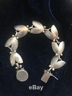 Vintage Antique Georg Jensen Tulip Bracelet