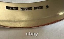 Vintage BENT KNUDSEN (Bent K) STERLING Asymmetrical BANGLE BRACELET Denmark