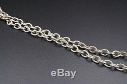 Vintage Bert Nienhuis Modernist Enamel Pendant Necklace 28 Denmark BN NS1421