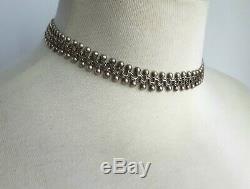 Vintage Danish 830s Silver Choker & Bracelet Denmark Norway Scandinavian 36g