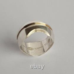 Vintage Danish Georg Jensen Silver 925s Ring #313 By Regitze Overgaard