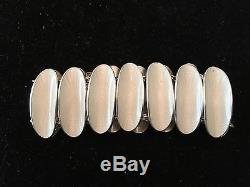 Vintage David Andersen Norway Sterling Silver & Enamel Modernist Bracelet
