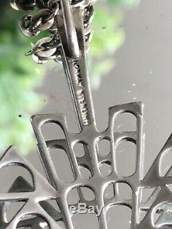 Vintage David Andersen Sterling Silver enamel Pendant Norway
