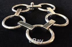 Vintage Denmark Sterling Bent K 61 Knudsen Bracelet