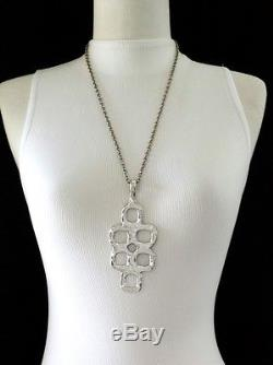 Vintage Erik Dennung B&d Denmark Large Modernist Pendant Necklace