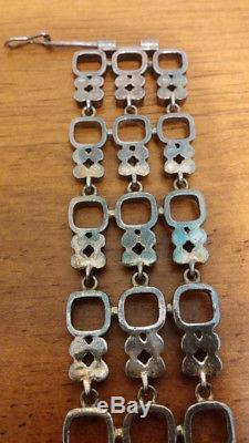 Vintage Finnish (Finland) Silver Bracelet, 1970s, Jorma Laine, Kultateollisuus
