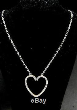 Vintage GEORG JENSEN Heart Sterling Silver 925S Denmark #44