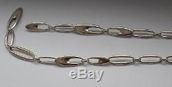 Vintage GEORG JENSEN Silver 925s Zephyr Necklace # 500 By Regitze Overgaard