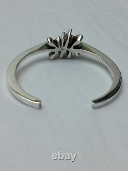Vintage Georg Jensen Denmark Sterling Silver 925 Cuff Bracelet #a112 A