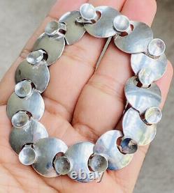 Vintage Georg Jensen Denmark Sterling Silver Bracelet # 172, Ibe Dahlquist