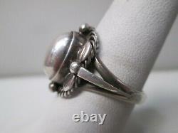 Vintage Georg Jensen Denmark Sterling Silver Ring Size 9 1A