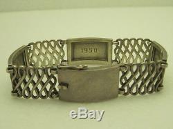 Vintage Georg Jensen Sterling Silver #62 Denmark