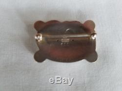 Vintage Georg Jensen Sterling Silver 925 Denmark Dove Bird Pin Brooch #111