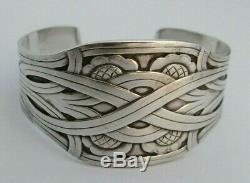 Vintage Georg Jensen Sterling Silver 925s #55 Bracelet Denmark Harald Nielsen