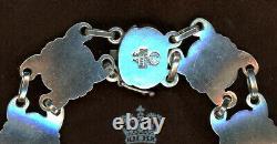 Vintage Georg Jensen Sterling Silver Bracelet No. 37