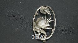 Vintage Georg Jensen Sterling Silver Danish Denmark # 274 Brooch Pin