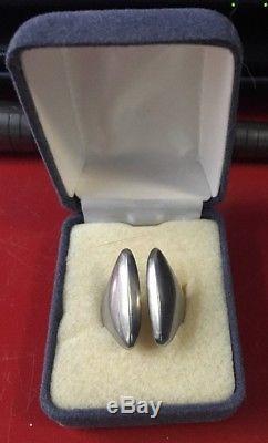 Vintage Hans Hansen Denmark Sterling Silver Ring Size US 6.5