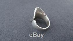 Vintage Hans Hansen Sterling Silver 925s Ring Denmark