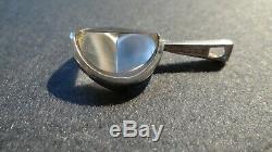 Vintage Jorma Laine Turun Hopea Silver 830s And Rock Crystal Pendant Finland