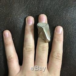 Vintage MCM Jane Wiberg Finn Sterling Silver Moderinst Brutalist Sculpture Ring