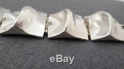Vintage Matti J. Hyvarinen Sterling Silver 925s Bracelet Finland