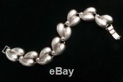 Vintage Mid-Century Modern Scandinavian Danecraft Sterling Silver Bracelet