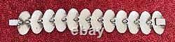 Vintage Niels Erik NE FROM Denmark Sterling Silver 925 Modernist Bracelet 47 gr