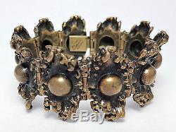 Vintage Pentti Sarpaneva Finland Bronze Modernist Bracelet