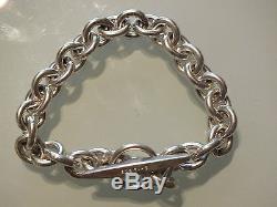 Vintage Sterling Silver Heavy Denmark Bracelet by Hermann Siersbol 42gr, 19cm