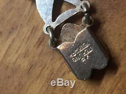 Volmer Bahner Vintage Danish Sterling Silver and Enamel Bracelet Denmark