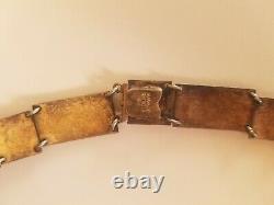Volmer Bahner Vintage Denmark Sterling Enamel Necklace