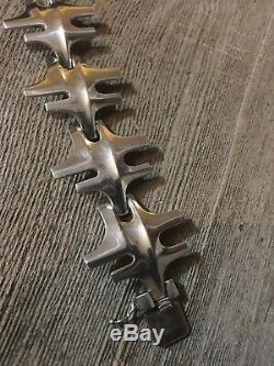 Vtg 60s MCM Scandinavian GEORG JENSEN Sterling Silver Bracelet 179 Modernist